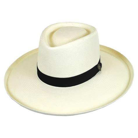 Straw Planter Hat by Dobbs San Juan Shantung Straw Planter Hat Straw Hats