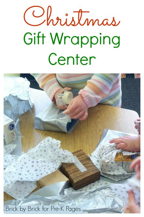 where can i get a gift wrapped gift wrapping center pre k pages