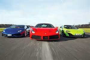 Lamborghini Vs Speed 488 Gtb Vs Lamborghini Hurac 225 N Vs Mclaren 675 Lt