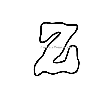 letter carving templates print z letter stencil free stencil letters