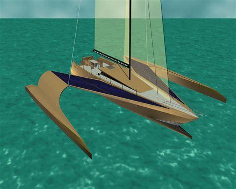trimaran project the trimaran project boat design net