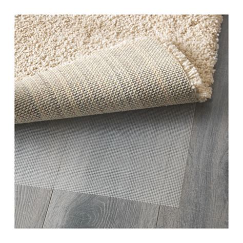 Ikea Vanskaplig Karpet ikea adum karpet tebal 200x300 cm putih pudar elevenia