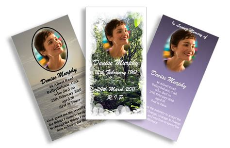 how to make memorial cards for funeral memorial card quotes quotesgram