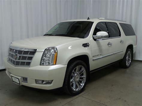 2014 Cadillac Escalade For Sale by Pre Owned 2014 Cadillac Escalade Esv Platinum Suv In
