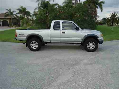 Used Toyota Tacoma 4wd Sell Used 2002 Toyota Tacoma Trd 4 X 4 Extended Cab 4wd