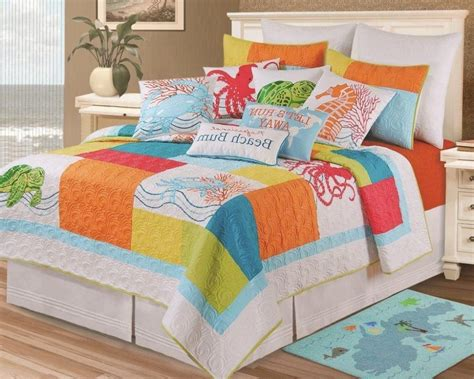 nautical beach themed bedding sets wall inspirations kohls theme with ocean themed bed