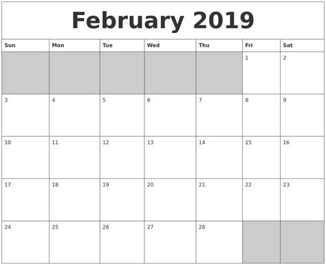 june monthly calendar