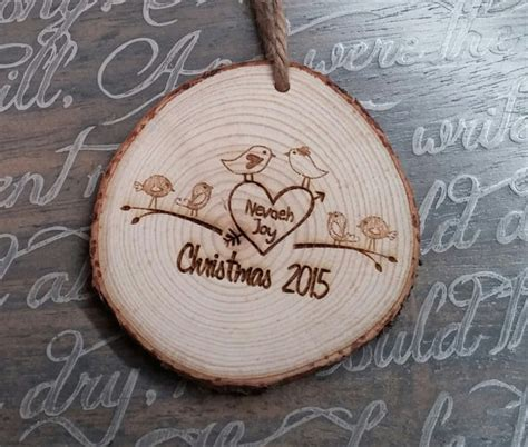 engraved christmas ornament personalized christmas ornament
