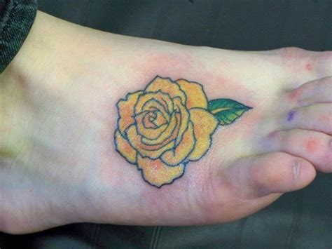 tattoos of yellow roses yellow tattoos designs ideas and meaning tattoos
