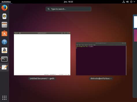 ubuntu l ubuntu 17 10 canonical d 233 voile l interface et le 171 ubuntu