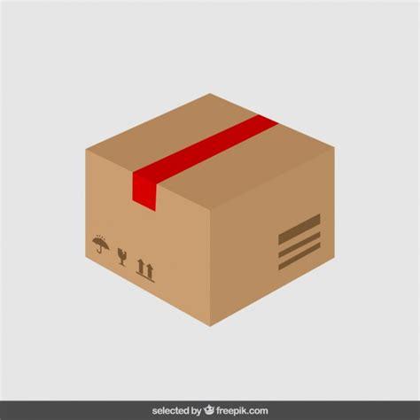 box layout vector carton in flat design vector free download