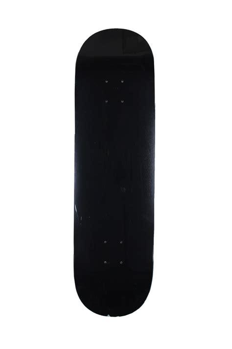 blank deck blank skateboard black litezpeed 8 25 skate shop