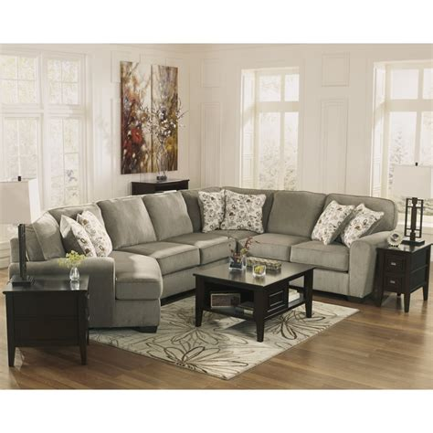 patola park sectional ashley reclining sectionals patola park 12900 4 pc