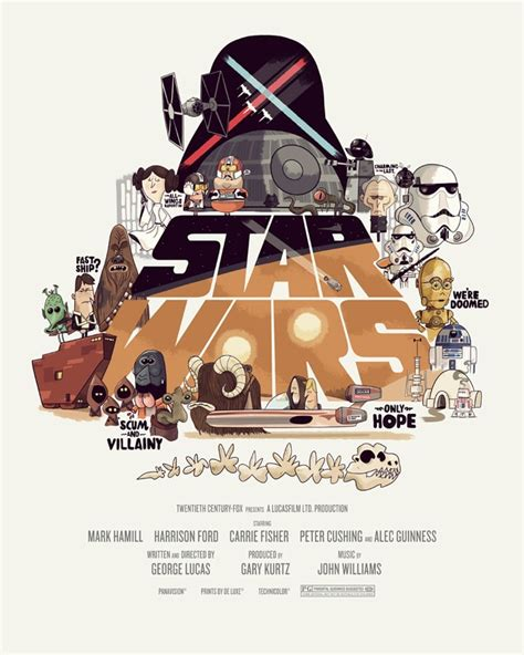 film cartoon war fan created star wars trilogy posters put the geek back in