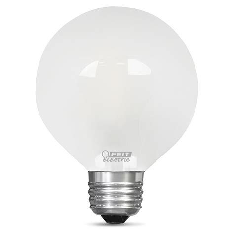 Feit Electric 60 Watt Equivalent Daylight G25 Dimmable Low Watt Led Light Bulbs