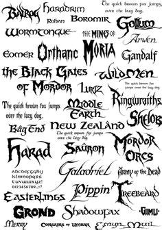 punk tattoo font generator lotr on pinterest lord of the rings tolkien and lotr