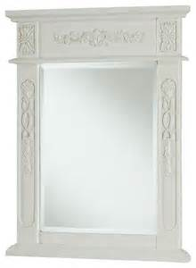 antique white bathroom mirror 22 quot x28 quot vanity mirror antique white antique white traditional bathroom mirrors by