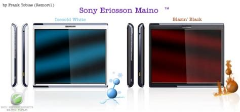 Hp Tablet Sony Ericsson sony ericsson maino tablet concept inspired by se aino tablet news