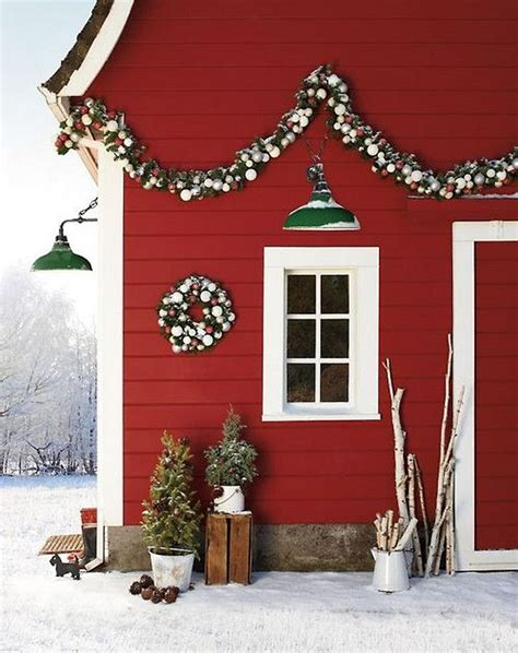 Pictures Of Homes Decorated For Outside by Decorazioni Natalizie In Stile Nordico La Figurina