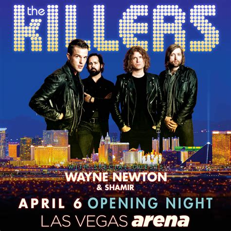 best of the killers the killers to play opening of new mgm arena las