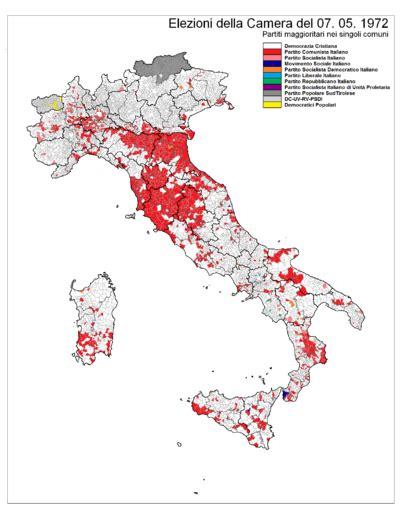 differenza e senato elezioni politiche italiane 1972