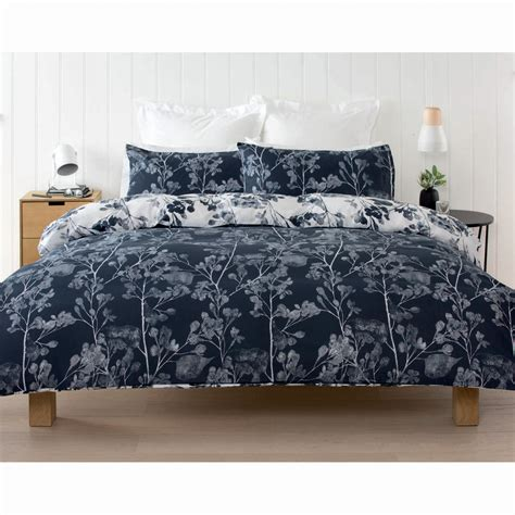 kmart bedding dappled leaf quilt cover set king bed kmart