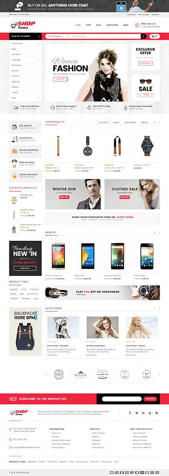 woocommerce themes clothing download shop town multipurpose woocommerce theme