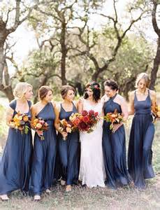 bridesmaid dresses for november weddings bohemian fall wedding in hill country caitlin