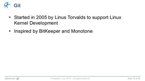 git tutorial linus torvalds version uncontrolled how to manage your version control