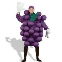 Purple grapes adult costume thisnext