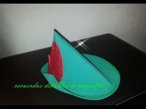 How To Make A Robin Hat Out Of Paper - diy dulcero gorro pan