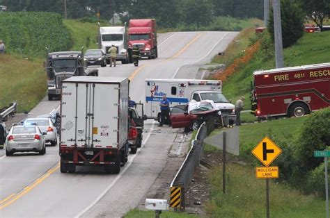 car crash in illinois freeburg smithton killed in crash on illinois 159 belleville news democrat