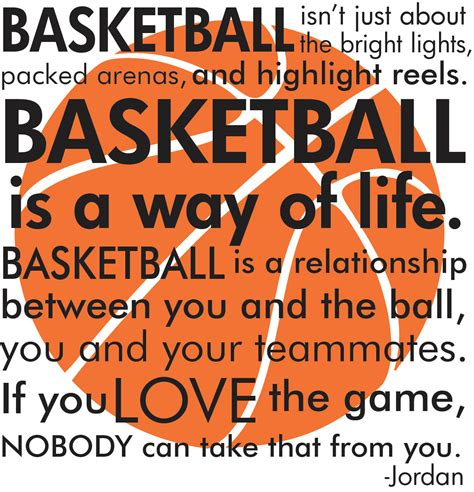 printable basketball quotes basketball michael jordan quote with basketball by