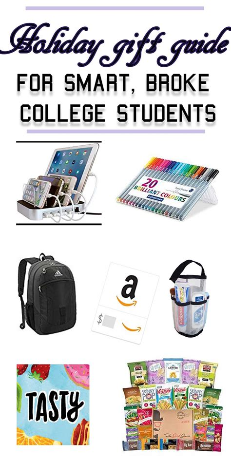 the holiday gift guide for smart and broke college