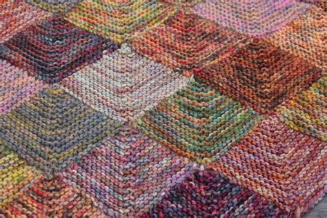 Knitted Patchwork Blanket - 301 moved permanently