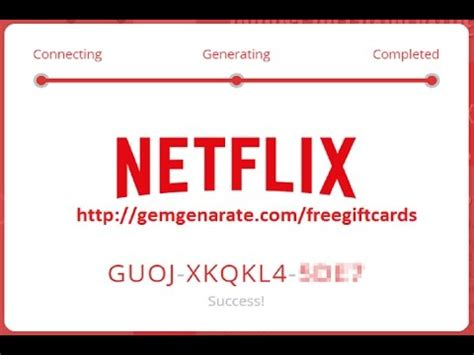 What Is A Gift Card Code - free netflix codes netflix code generator 2017 how to get free netflix codes youtube