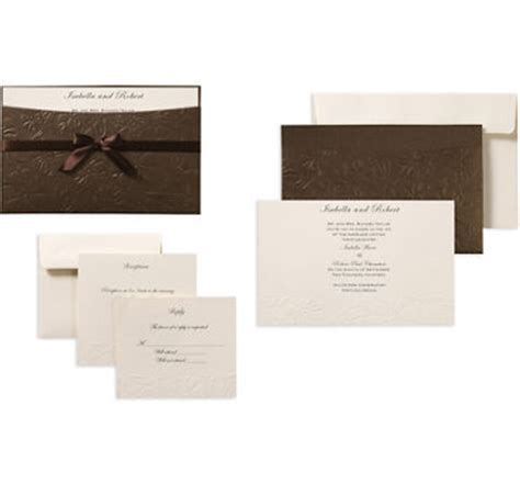 embossed flower pocket printable wedding invitations printable wedding invitations invitation kits city