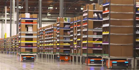 amazon logistics amazon to open logistics centre filled with robot workers