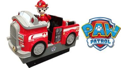 paw patrol fire boat kiddie rides children s entertainment clearhill