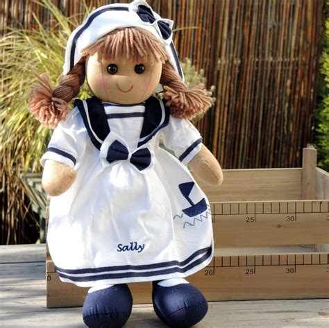 rag doll not on the high personalised sailor rag doll by the alphabet gift