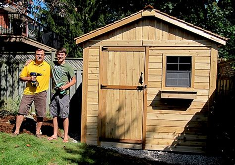 garden shed  gardener outdoor living today