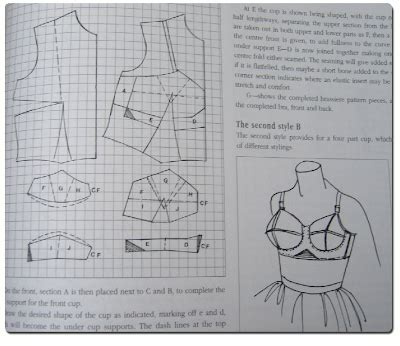 bra pattern making books understanding corset patterns