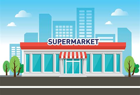 Supermarket Clipart supermarket clip vector images illustrations istock