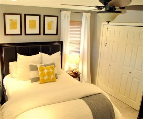 Gray And Yellow Master Bedroom Ideas by Looking Forward A Gray Yellow Master