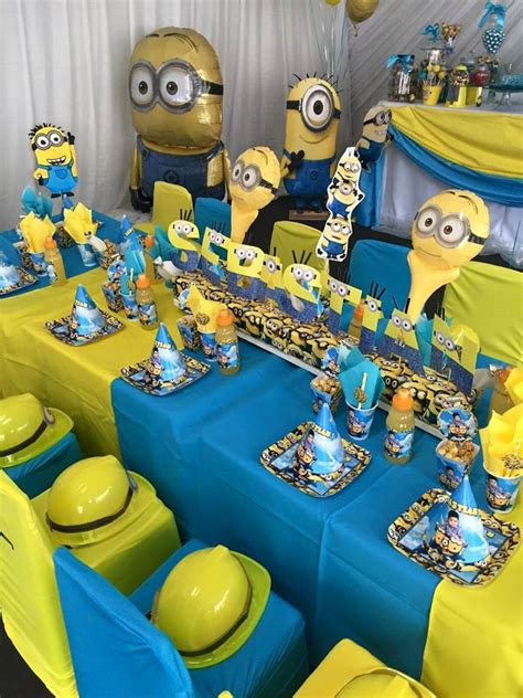 birthday themes minions one in a minion 1st birthday party supplies