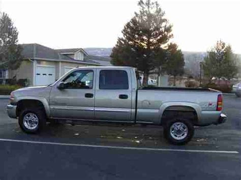 purchase used 2003 gmc sierra 2500 hd slt extended cab pickup 4 door 6 6l in fitchburg buy used 2003 gmc sierra 2500 hd slt crew cab pickup 4 door 6 6l in reno nevada united states