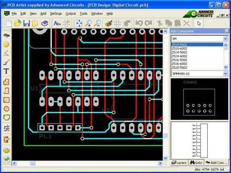 electronics layout design software electronic design using pcb artist layout software 1 2 4