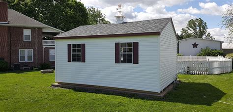 matching your vinyl shed design to your house glick