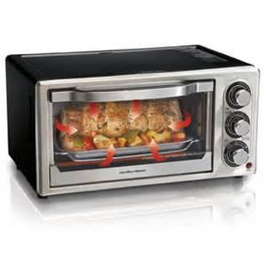 Hamilton Beach 6 Slice Set And Forget Toaster Oven Hamilton Beach 174 Convection 6 Slice Toaster Oven