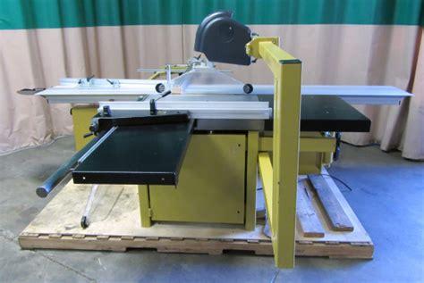 used powermatic hps126 sliding table saw